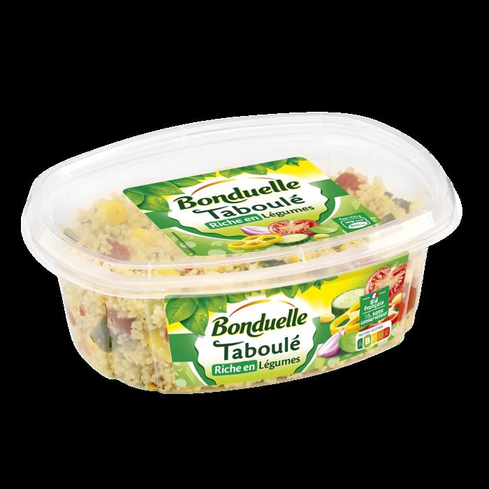 Taboulé riche en légumes