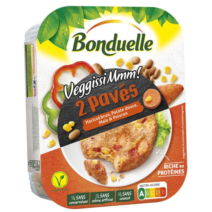 VeggissiMmm - Pavé Haricot brun et Patate Douce
