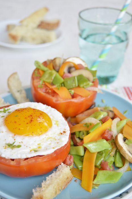 oeuf-tomate Légumes du Marché
