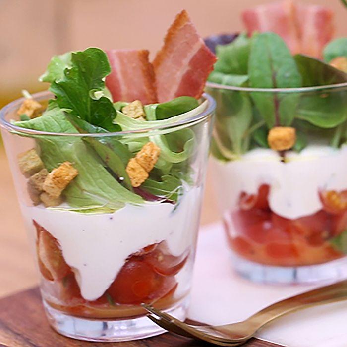 Salade lyonnaise revisitée
