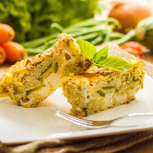 Cake aux Choux-fleurs et Parmesan