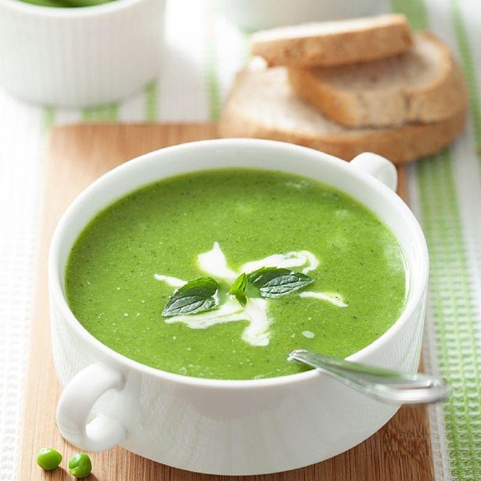 Velouté aux 4 Légumes verts et Lait de coco