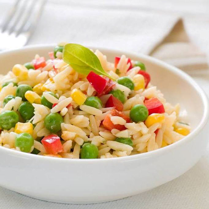 Salade de riz enfantine