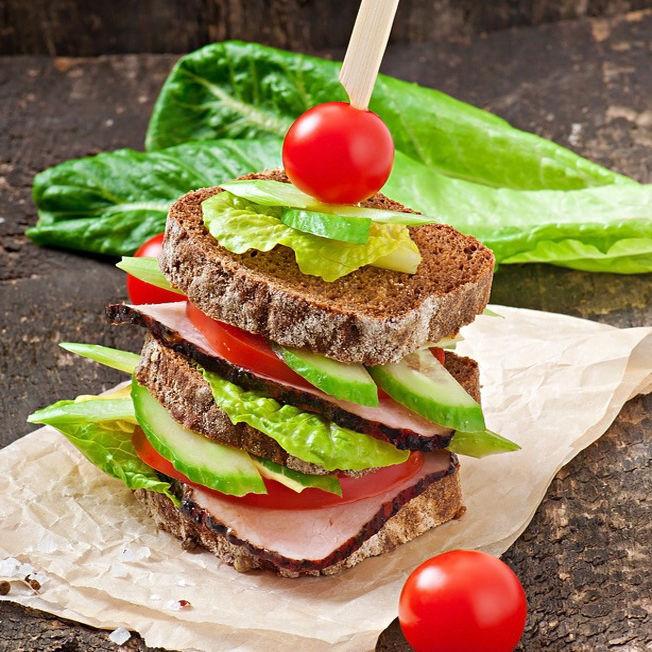 Club sandwich à la feuille de chêne