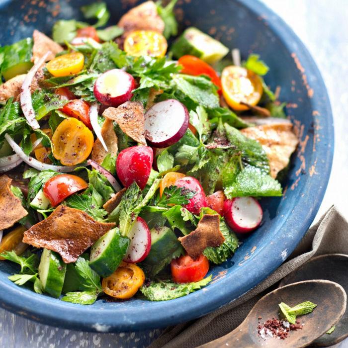 Salade extra gourmande