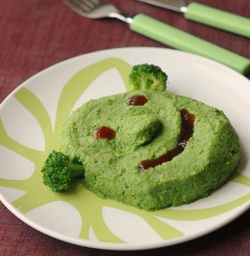 Purée déguisée aux Légumes Verts