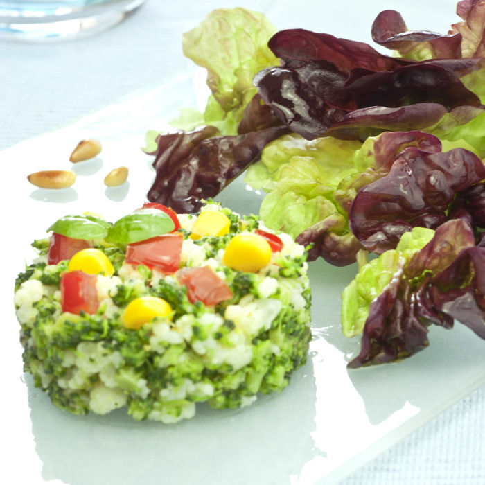 Taboulé de chou fleur et brocoli