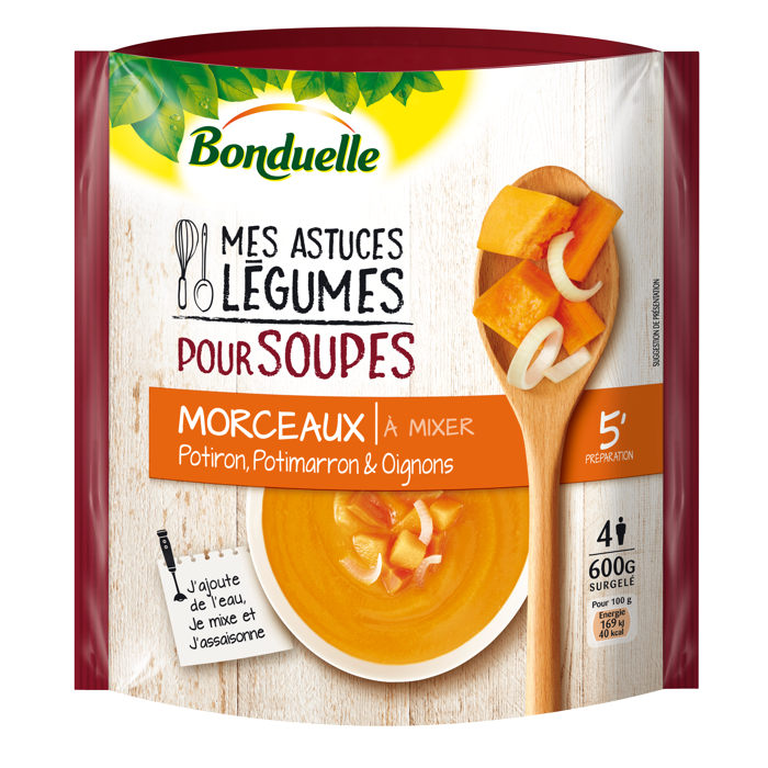 Mes Astuces Légumes pour Soupes :  Potiron, Potimarron et Oignons