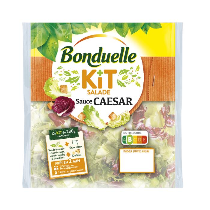 Kit Salade - Sauce Caesar