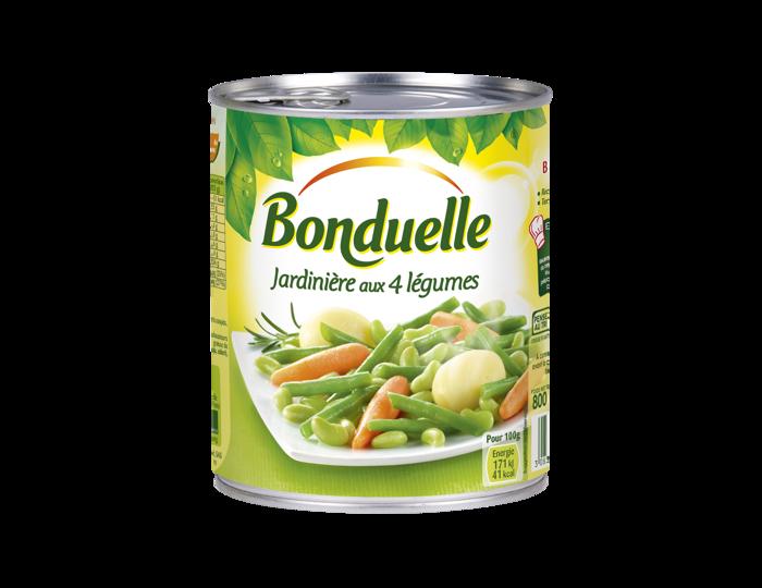 Jardinière aux 4 légumes