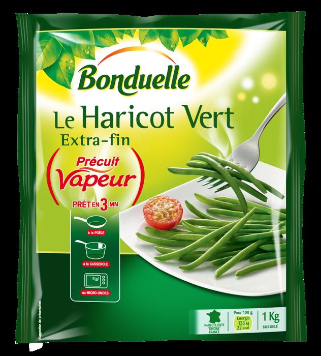 Le Haricot Vert Précuit Vapeur