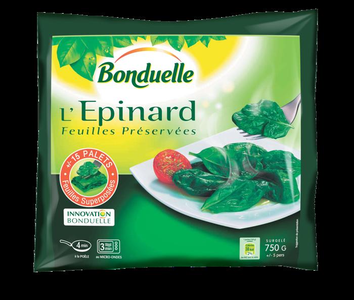 L'Epinard Feuilles Préservées