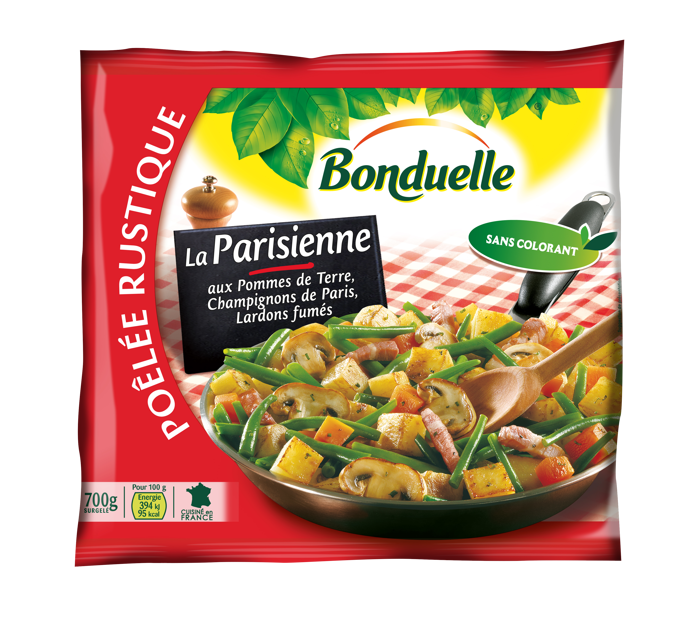 Poêlée La Parisienne - Haricots Verts, Pommes de terre, Lardons