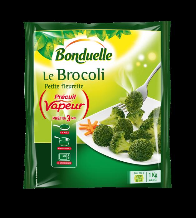 Le Brocoli Précuit Vapeur