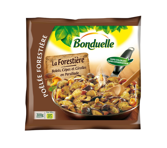 Poêlée La Forestière - Bolets, Cèpes, Girolles