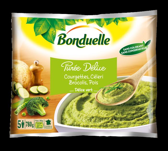 Purée Délice - Courgettes, Céleri, Brocolis, Pois - Délice Vert