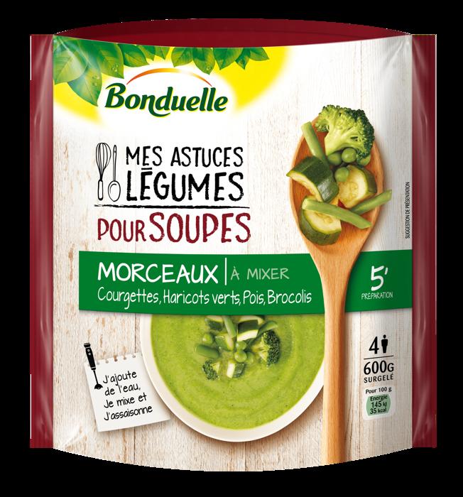 Mes Astuces Légumes pour Soupes : Courgettes, Haricots verts, Pois et Brocolis