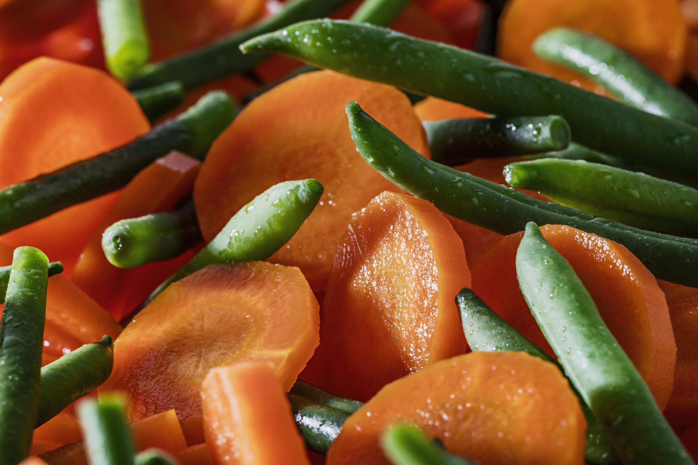 Les 3 Légumes Précuit Vapeur haricots verts, carottes et pois gourmands