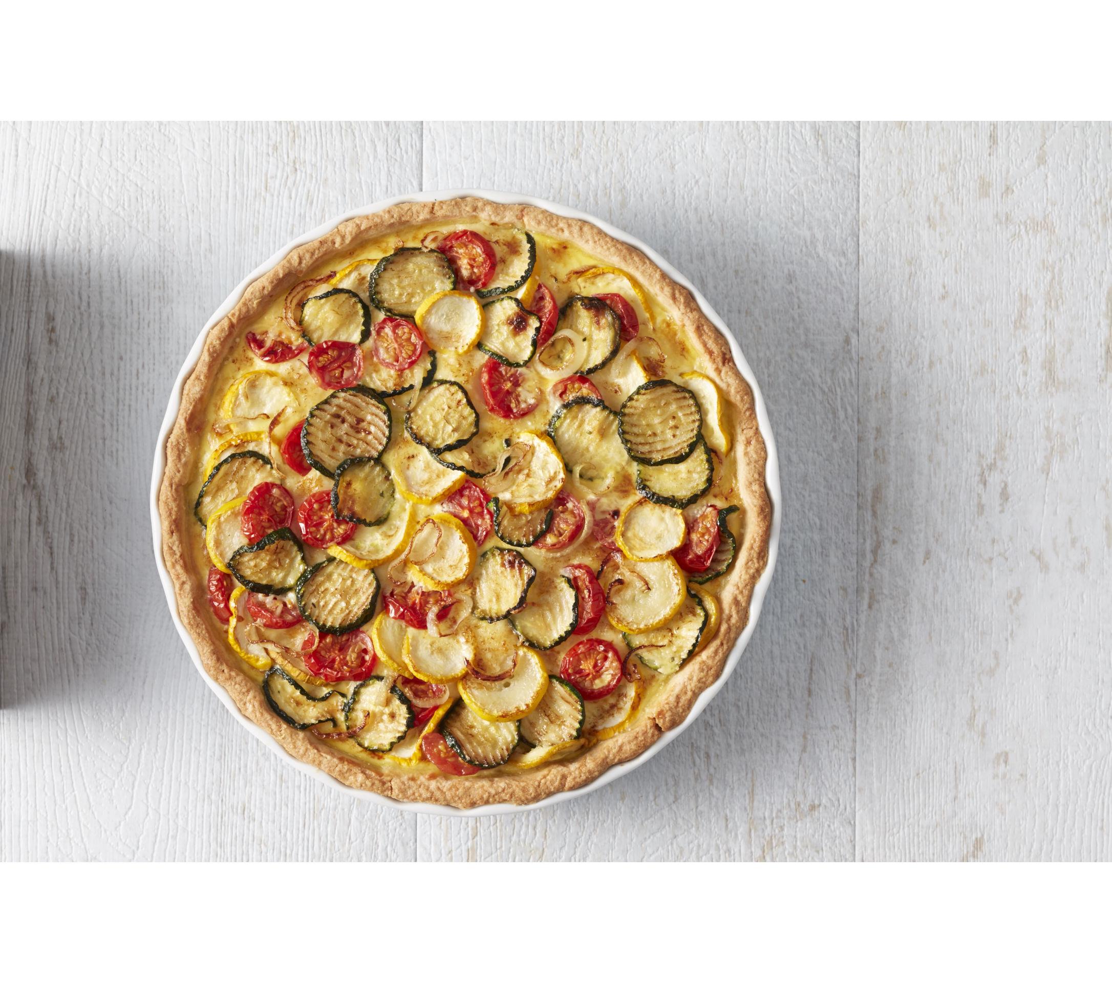 Mes Astuces Légumes pour Tartes : Courgettes, Tomates cerises et Oignons