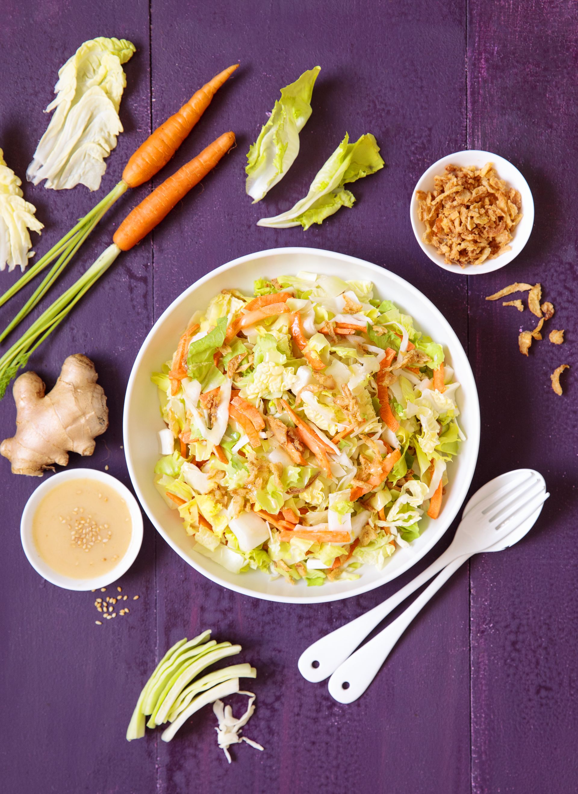 Kit Salade - Sauce Asiatique