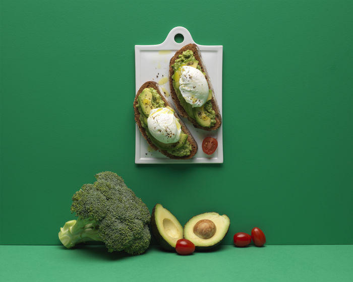 Avocado toast aux brocolis
