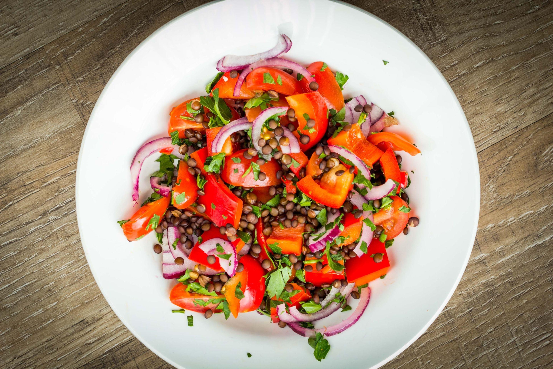 Salade de Lentilles Carottes & Oignons