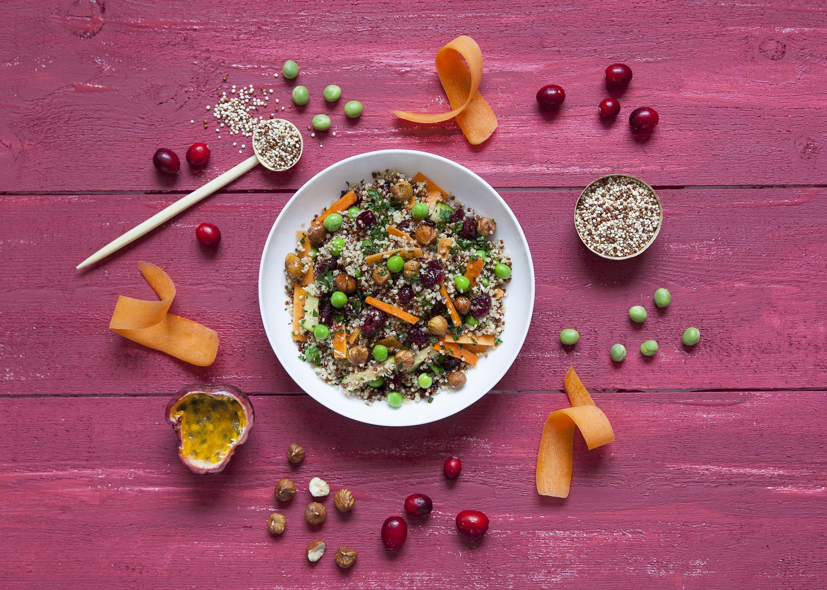 Les idées légumineuses - Duo Quinoa Pois doux