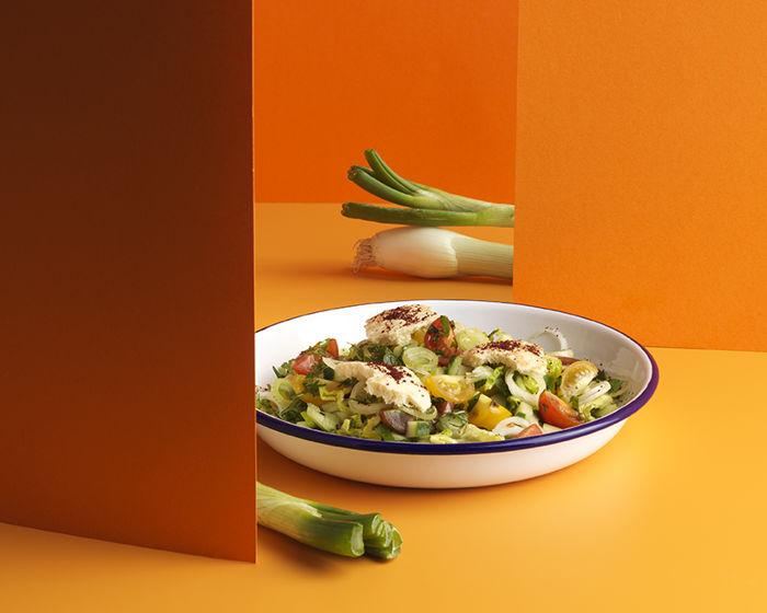 Salade façon fattouche