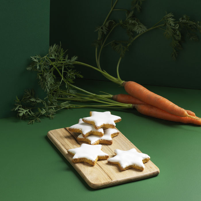 Sablés à la carotte