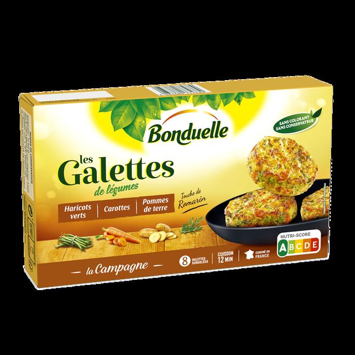 Galettes La Campagne - Haricots verts, carottes et pommes de terre