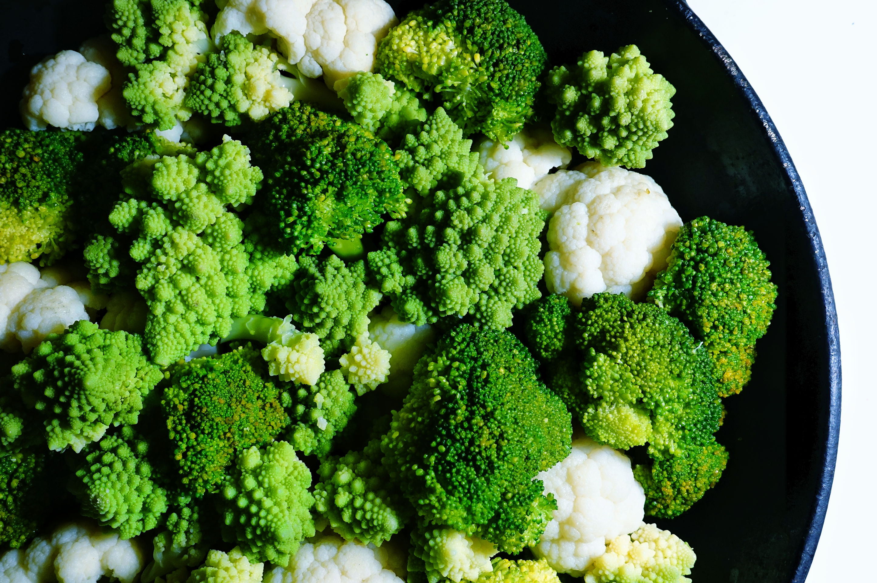 Les 3 Légumes Précuit Vapeur choux fleurs, brocolis et choux romanesco