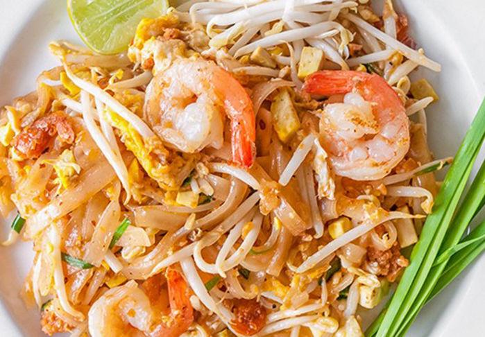 Pad Thai Fideos Fritos Con Gambas