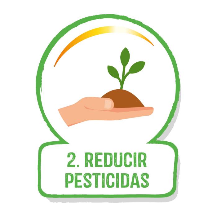 Reducir pesticidas