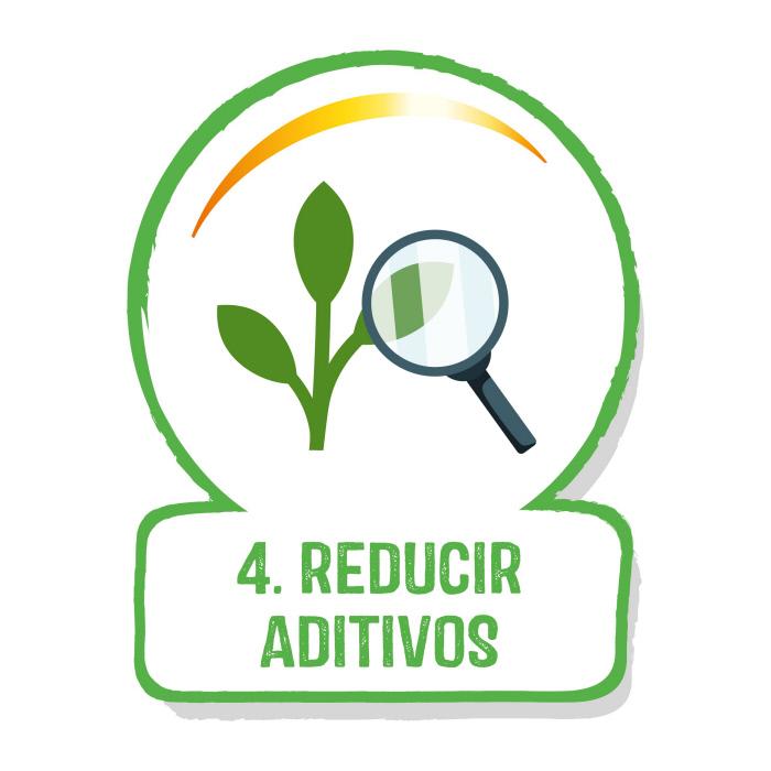 Reducir aditivos